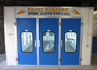 Double Walled Down-Draft Spray Booths