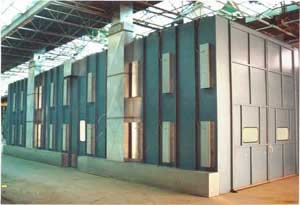 Industrial Manufacturing Paint Spray Booth Systems
