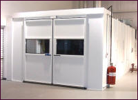 Down-Draft Spray Booths with Rear Exhaust Plenums