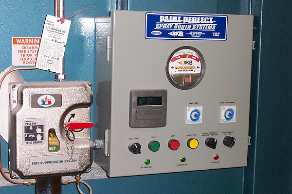 fire suppression   industrial paint booth   automotive